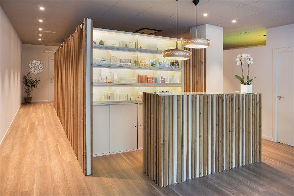 Diseño integral interiorismo reforma centro de estética bienestar | Perspectiva Moma