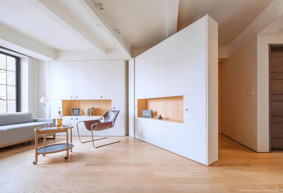 creación de espacios polivalentes en casa