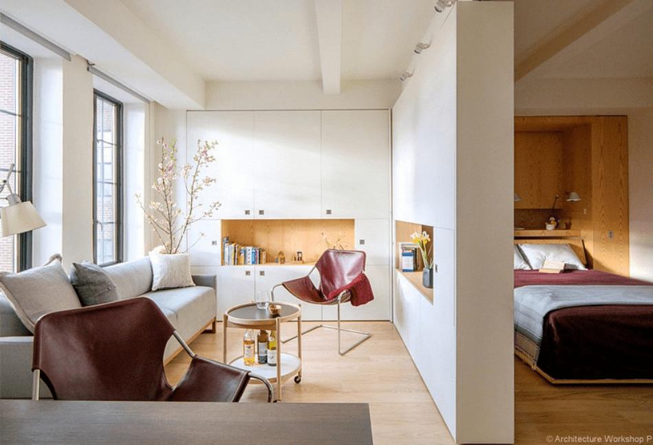 espacios polivalentes y diseño de interiores